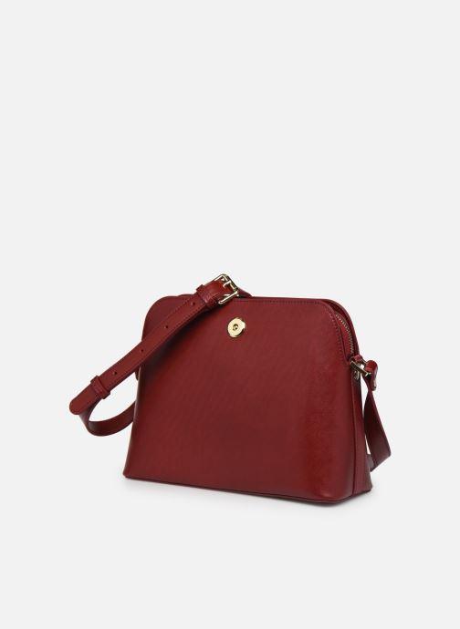 Handtaschen Sabrina VICTORINE rot schuhe getragen
