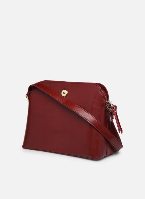 Handtaschen Sabrina VICTORINE rot ansicht von rechts