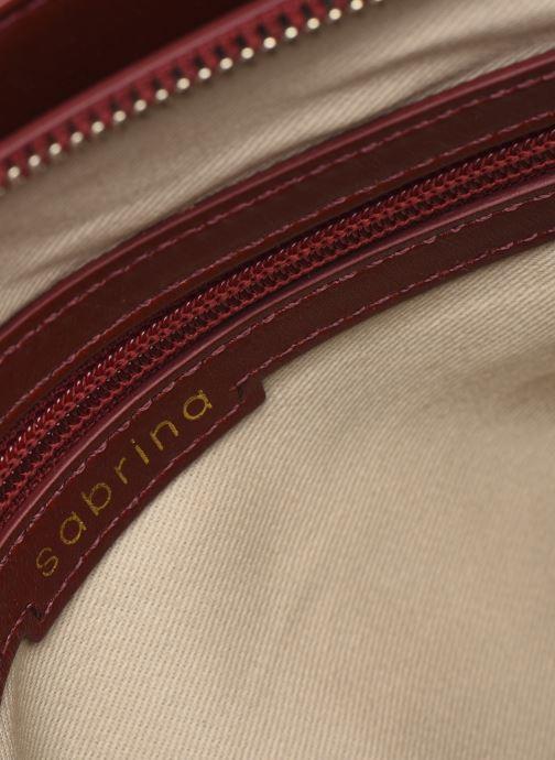Handtaschen Sabrina VICTORINE rot ansicht von hinten