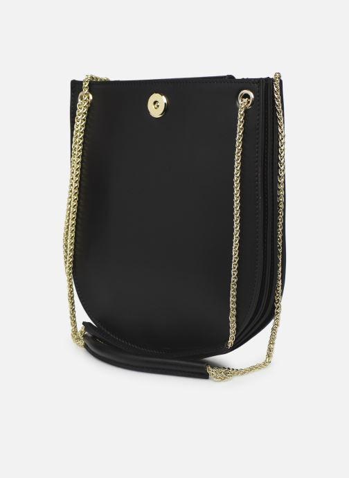 Handtaschen Sabrina CORINE schwarz ansicht von rechts
