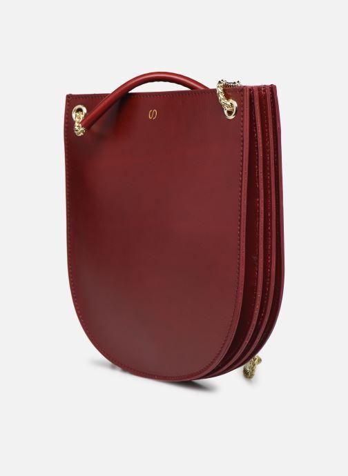 Handtaschen Sabrina CORINE rot schuhe getragen