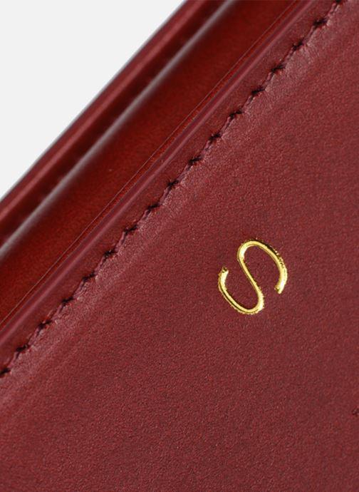 Handtaschen Sabrina CORINE rot ansicht von links