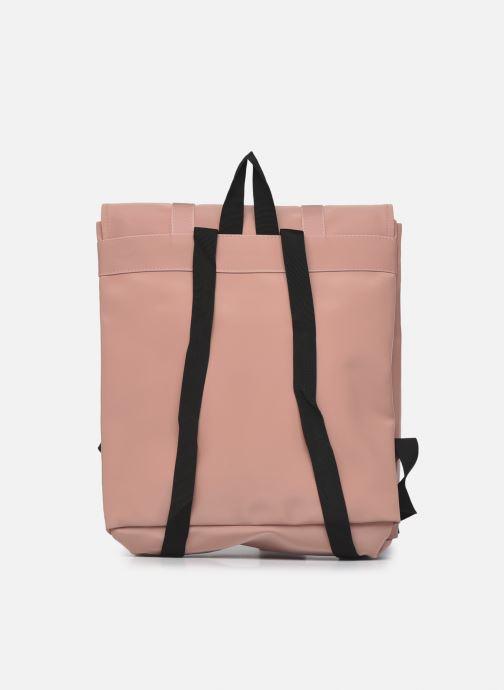 Rucksäcke Rains  MSN Bag Mini rosa ansicht von vorne