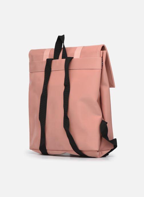 Rucksäcke Rains  MSN Bag Mini rosa ansicht von rechts