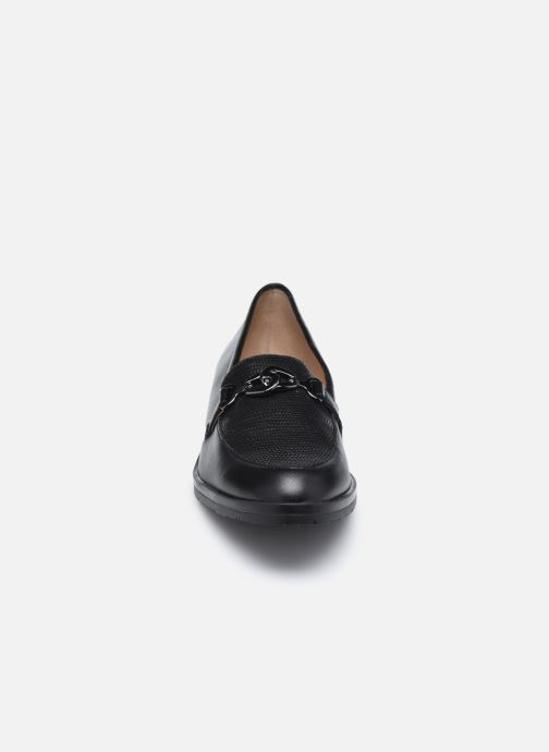 Slipper Karston KAMINI schwarz schuhe getragen