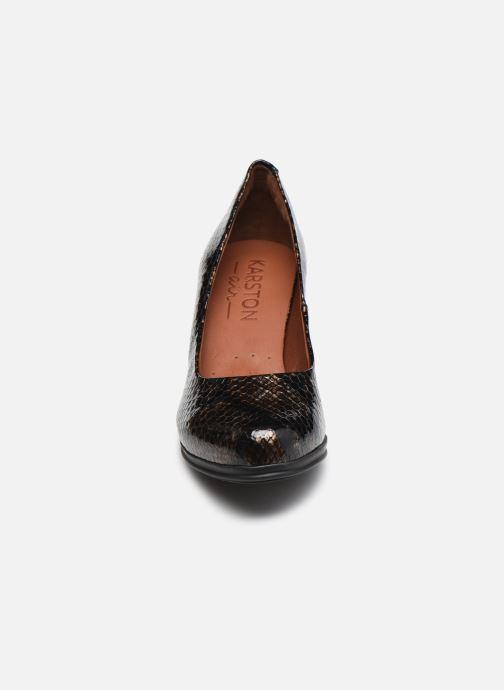 Escarpins Karston LOSTI Marron vue portées chaussures