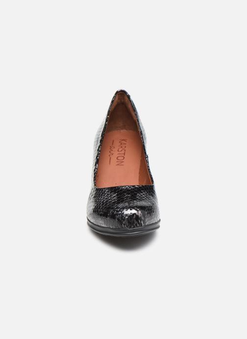 Escarpins Karston LOSTI Gris vue portées chaussures