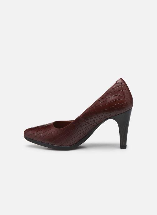 Zapatos de tacón Karston MYCHA Rojo vista de frente