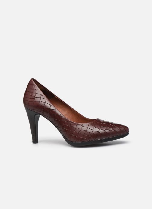 Zapatos de tacón Karston MYCHA Rojo vistra trasera