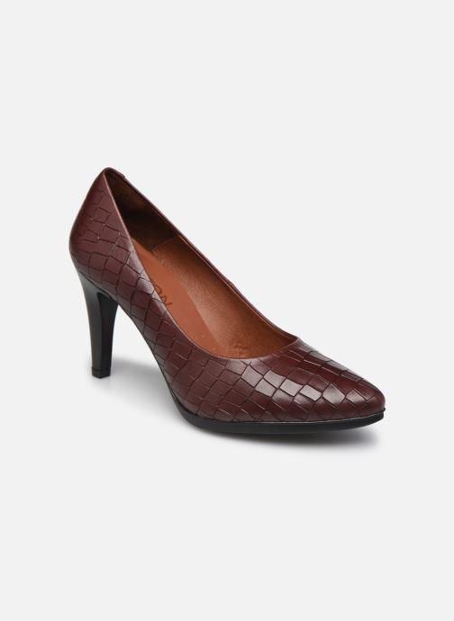 Zapatos de tacón Karston MYCHA Rojo vista de detalle / par
