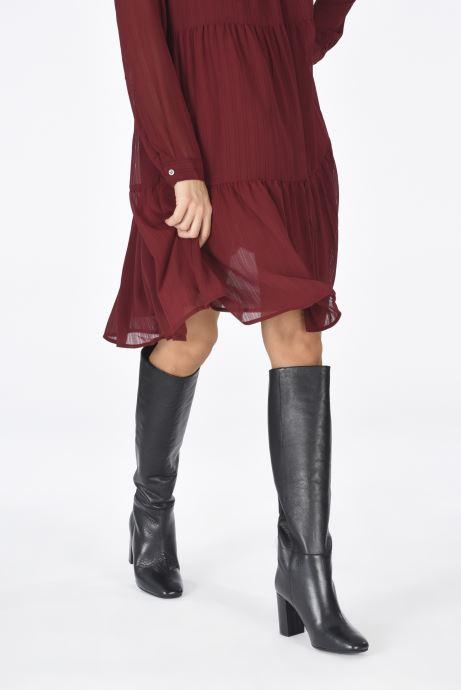 Stiefel Georgia Rose Kia schwarz ansicht von unten / tasche getragen