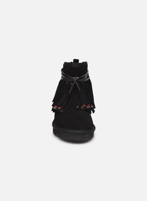 Bottines et boots Colors of California Birgitta 2 Noir vue portées chaussures