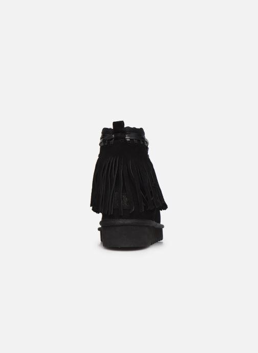Bottines et boots Colors of California Birgitta 2 Noir vue droite