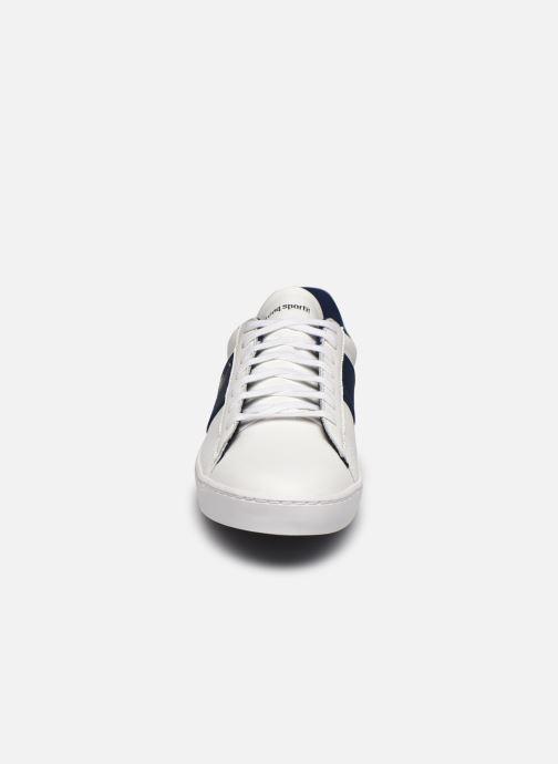 Baskets Le Coq Sportif Elsa Blanc vue portées chaussures