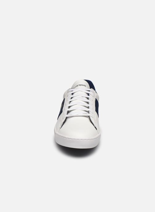 Sneaker Le Coq Sportif Elsa weiß schuhe getragen
