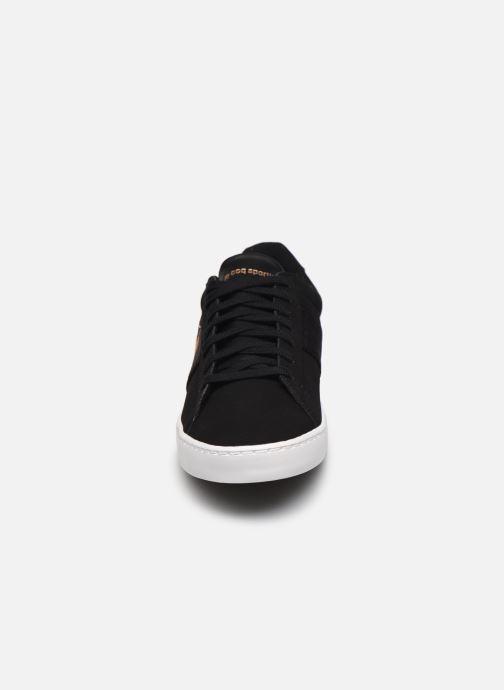 Baskets Le Coq Sportif Elsa Noir vue portées chaussures
