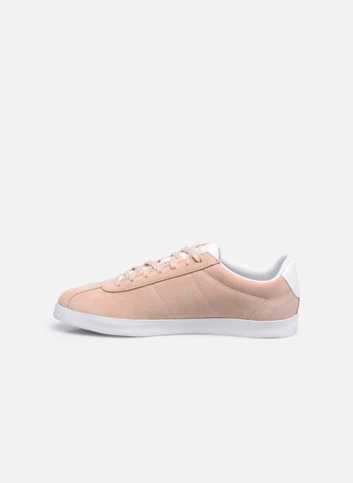 Sneakers Le Coq Sportif Ambre Rosa immagine frontale