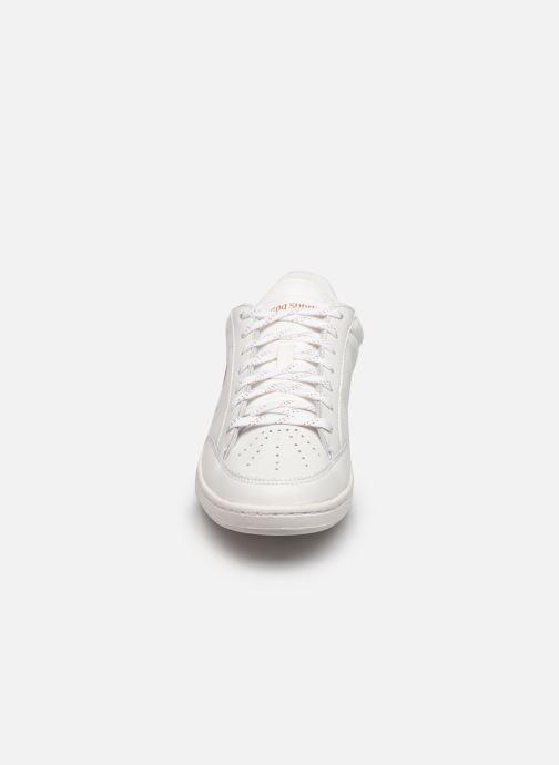 Baskets Le Coq Sportif Court Clay W Blanc vue portées chaussures