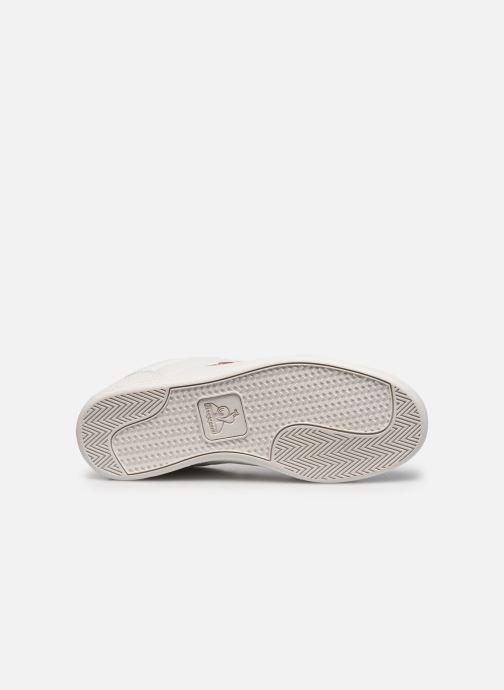 Sneakers Le Coq Sportif Court Clay W Bianco immagine dall'alto