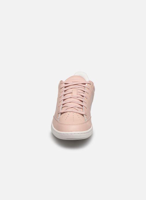 Baskets Le Coq Sportif Court Clay W Rose vue portées chaussures
