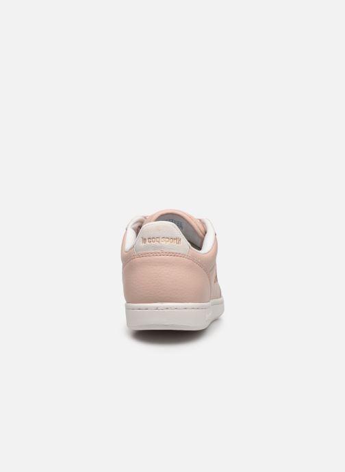 Sneaker Le Coq Sportif Court Clay W rosa ansicht von rechts