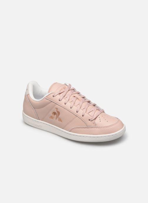 Sneaker Le Coq Sportif Court Clay W rosa detaillierte ansicht/modell