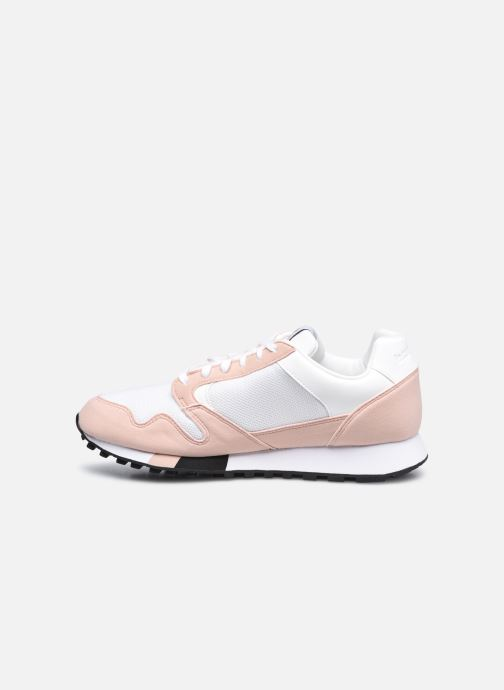 Sneaker Le Coq Sportif Manta W Retro weiß ansicht von vorne