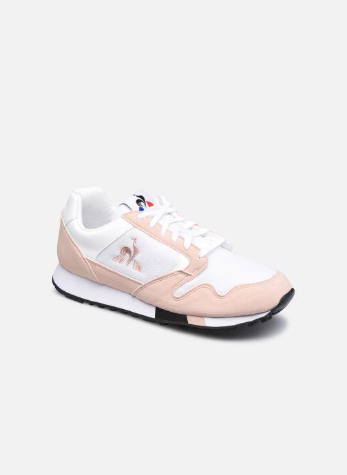 Sneaker Le Coq Sportif Manta W Retro weiß detaillierte ansicht/modell