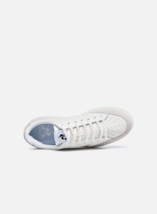 Sneaker Le Coq Sportif Court Net weiß ansicht von links