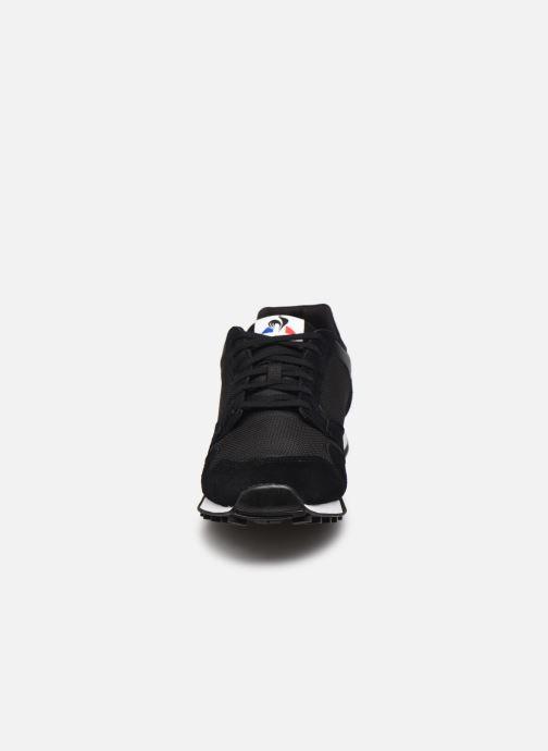 Sneaker Le Coq Sportif Manta schwarz schuhe getragen