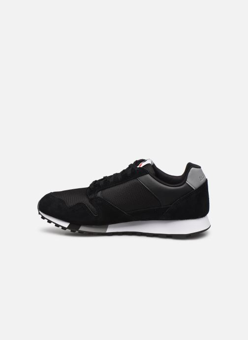 Sneaker Le Coq Sportif Manta schwarz ansicht von vorne