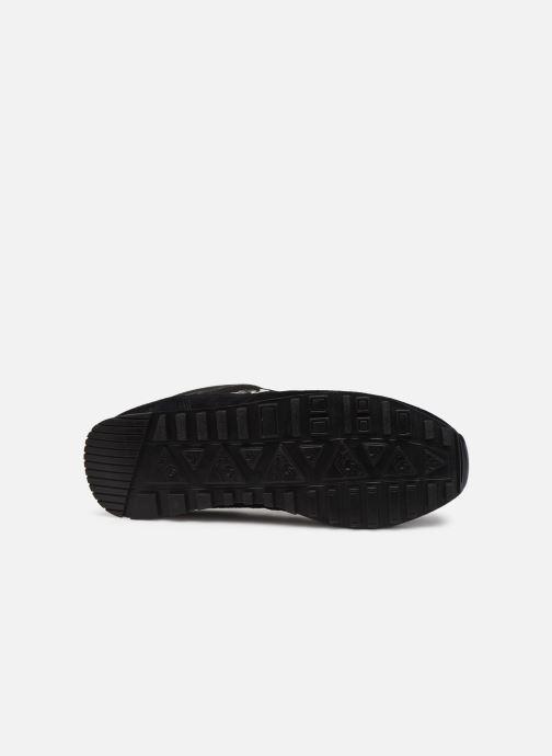 Sneaker Le Coq Sportif Manta schwarz ansicht von oben