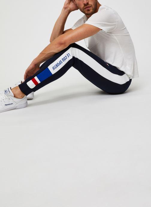 Vêtements Le Coq Sportif TRI Pant Slim N°1 M Bleu vue bas / vue portée sac