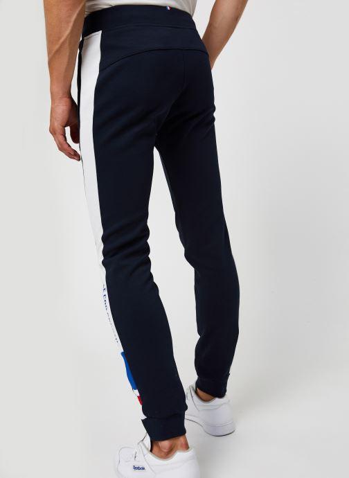 Vêtements Le Coq Sportif TRI Pant Slim N°1 M Bleu vue portées chaussures