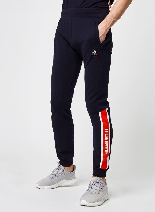 Vêtements Le Coq Sportif TRI Pant Slim N°1 M Bleu vue détail/paire