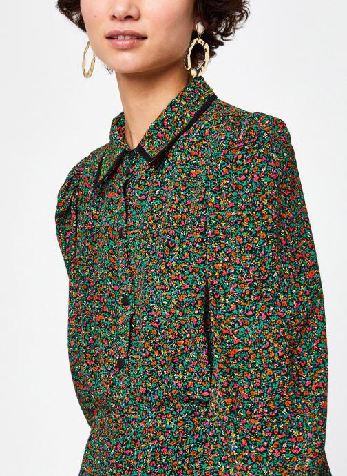 Kleding Essentiel Antwerp Wanderer short shirtdress Multicolor voorkant