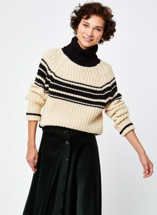 Weyond stripes ribs pullover