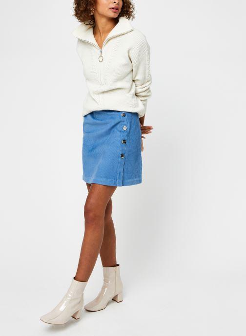 Vêtements Suncoo Pilow Blanc vue bas / vue portée sac