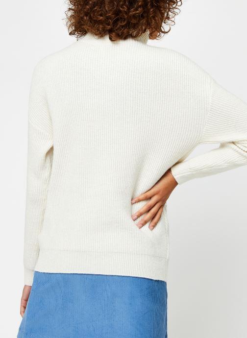Vêtements Suncoo Pilow Blanc vue portées chaussures