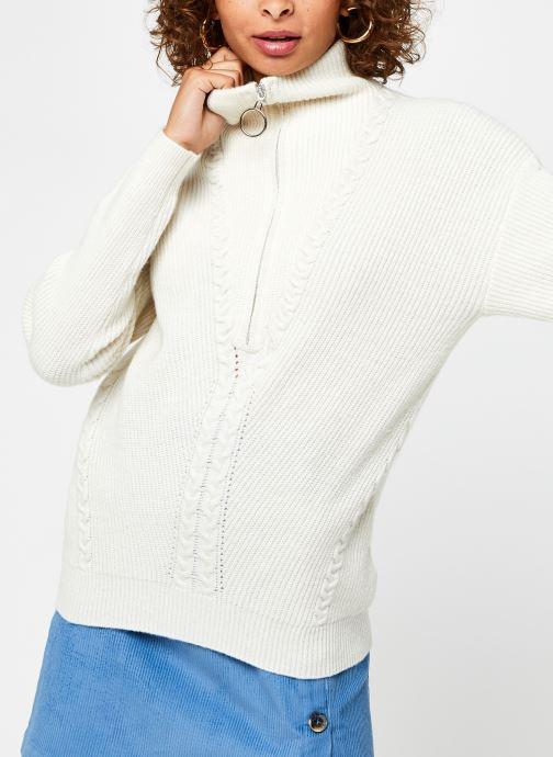 Vêtements Suncoo Pilow Blanc vue droite