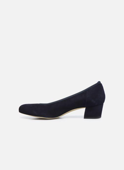 Zapatos de tacón Perlato 10518 Azul vista de frente