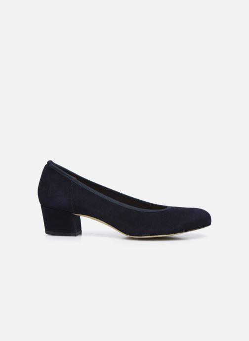 Zapatos de tacón Perlato 10518 Azul vistra trasera