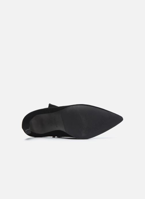 Botines  Perlato 11552 Negro vista de arriba