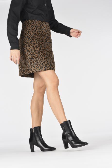 Stiefeletten & Boots Perlato 11569 schwarz ansicht von unten / tasche getragen