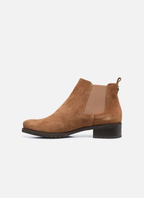 Stiefeletten & Boots Perlato 11648 braun ansicht von vorne