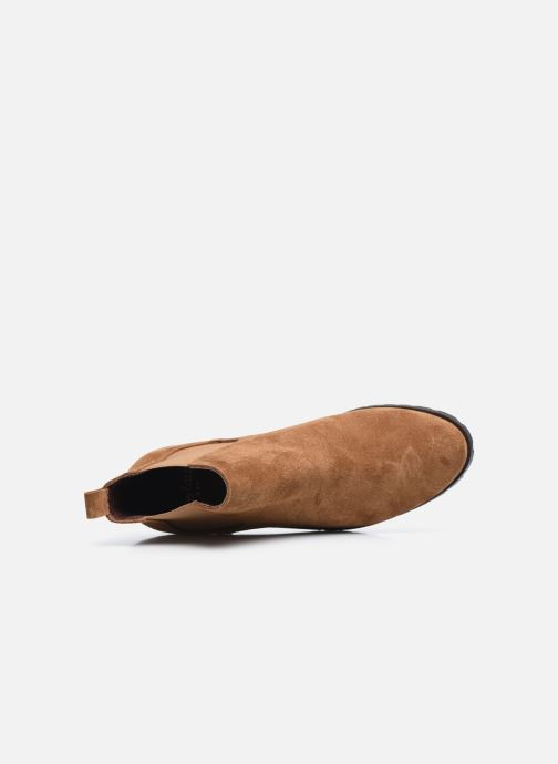 Bottines et boots Perlato 11648 Marron vue gauche