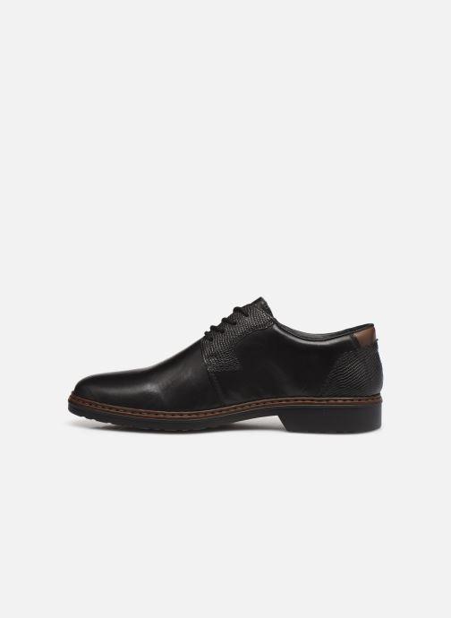 Chaussures à lacets Rieker Hervé Marron vue face