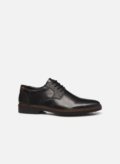 Chaussures à lacets Rieker Hervé Marron vue derrière