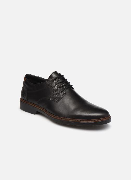Chaussures à lacets Rieker Hervé Marron vue détail/paire