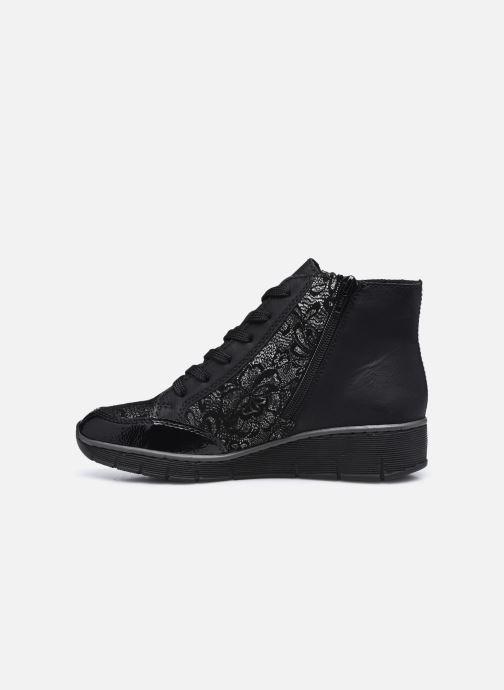Sneaker Rieker Aurélia schwarz ansicht von vorne
